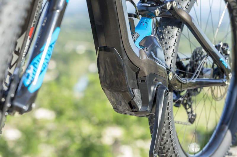 Specialized Levo electric mountain bike bash guard