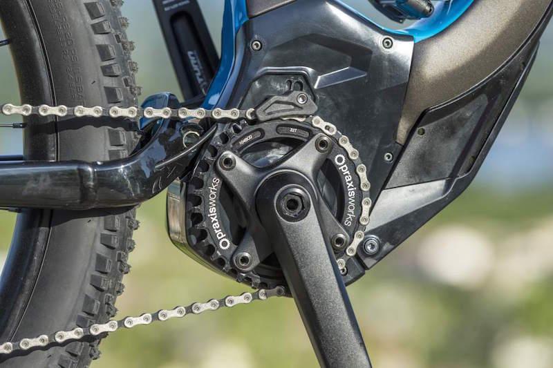 Specialized Levo electric mountain bike mid drive motor