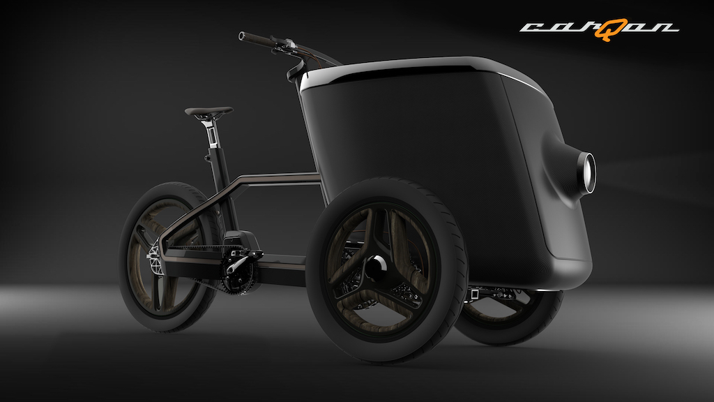 carQon electric cargo trike