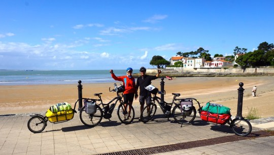 The Statistics of the E-Bike Cycle Tourists Record Breaking Journey