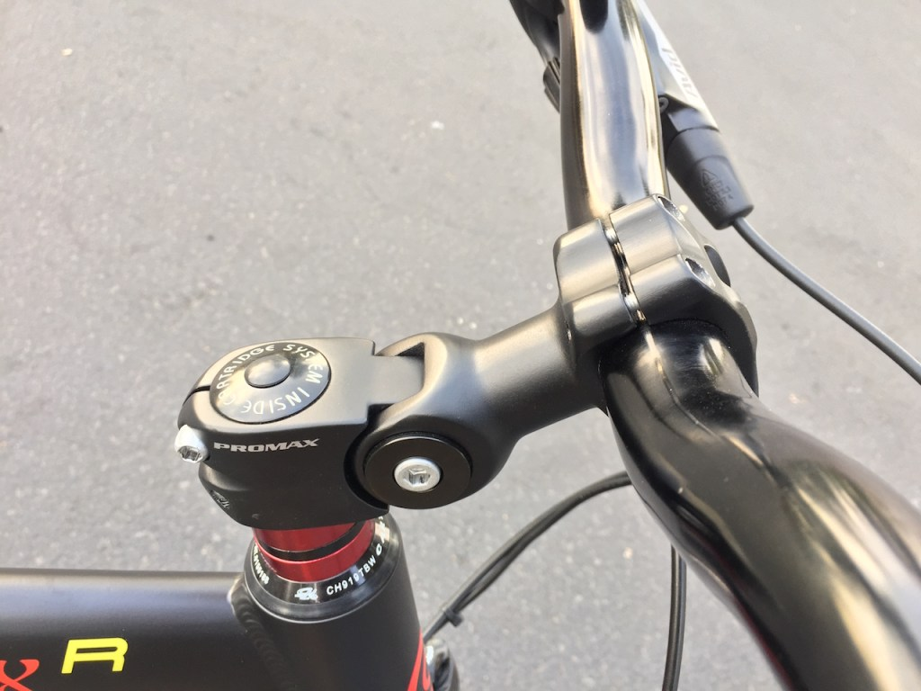 ProdecoTech Phantom XR electric bike adjustable stem