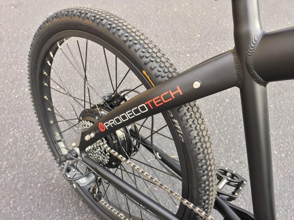 ProdecoTech Phantom XR electric bike back frame