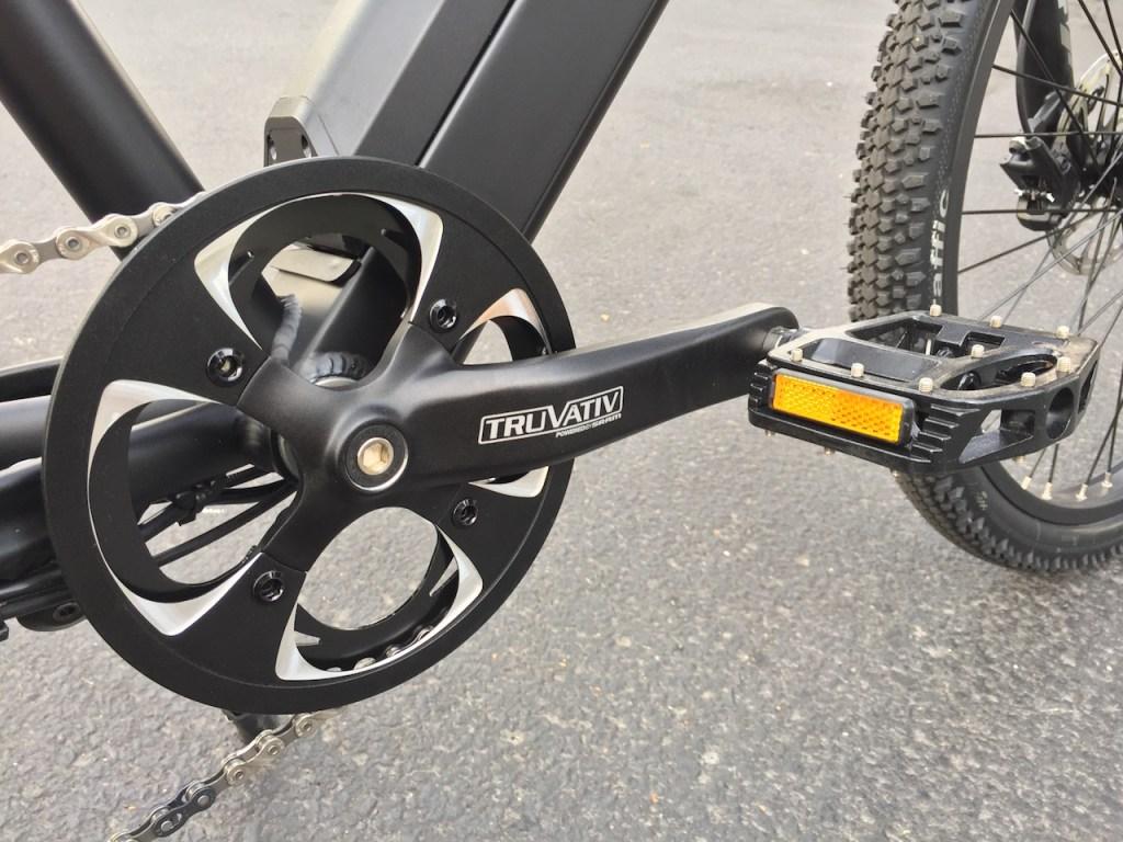 ProdecoTech Phantom XR electric bike truvativ crank pedal