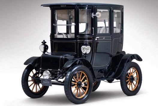 Baker Electric Model V Special Extension coupé 1912