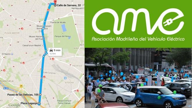 Ruta de la marcha VEM 2015