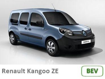 Renault Kangoo minificha