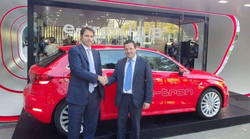 Acuerdo entre Audi e IBIL para impulsar la recarga de los híbridos enchufables