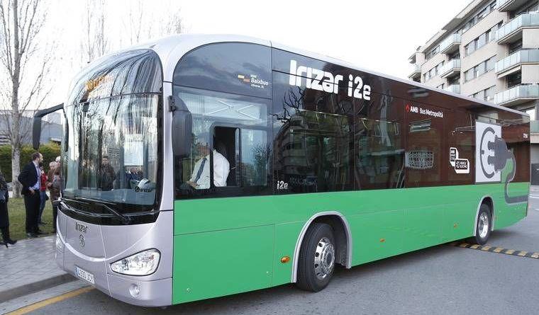 La AMB probará el nuevo Irizar i2e