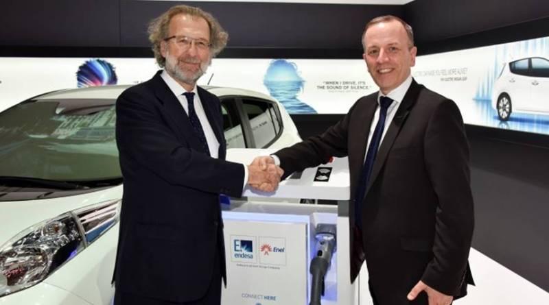 Nissan y Endesa se unen para promocionar el primer sistema V2G