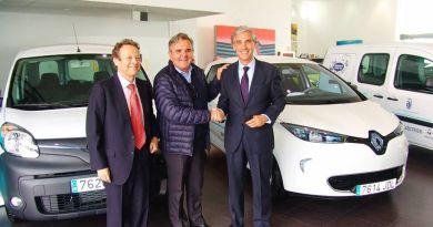 Renault entrega 3 eléctricos al Ayto. de Majadahonda