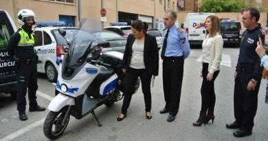 Scutum S02 para fuerzas del orden. La Policía Local de Murcia se suma a la movilidad sostenible.
