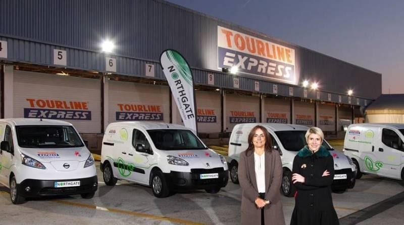 Tourline Express adquiere cinco Nissan e-NV200
