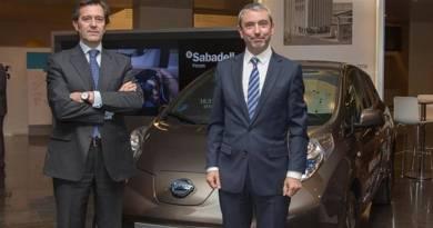 Nissan y Banco Sabadell impulsan el coche eléctrico en las empresas