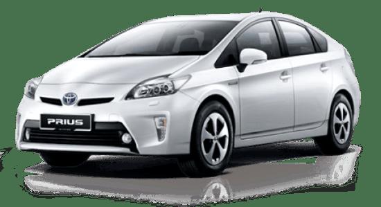 Tipos de vehículo Híbrido. Toyota Prius.