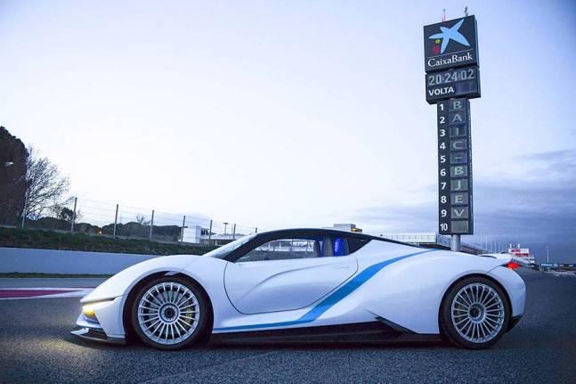 BAIC BJEV Campos Racing. super coche eléctrico chino BAIC
