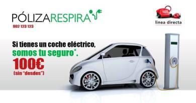 Seguro para coches eléctricos por 100 euros de Línea Directa