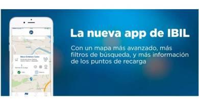 IBIL lanza su nueva App con los puntos de recarga