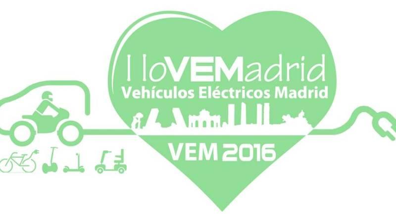 VEM2016 Disfruta de Madrid en vehículo eléctrico