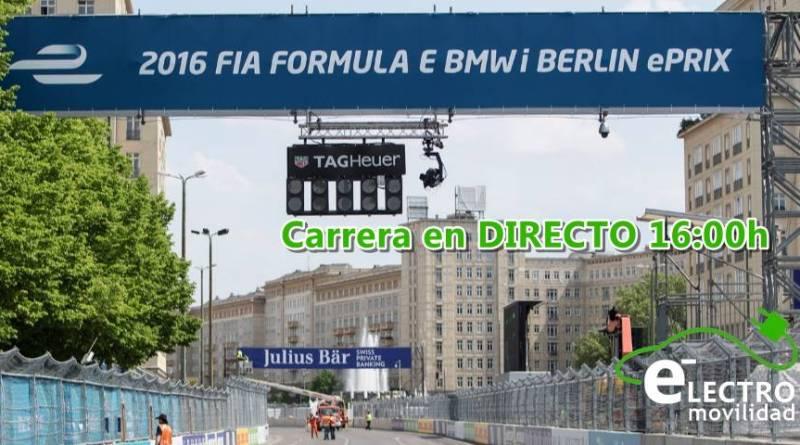 Formula E en directo! Streaming del ePrix de Berlin