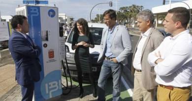 Lanzarote instala más puntos de recarga rápida
