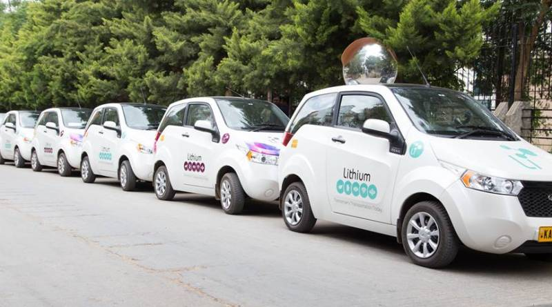 Lithium apuesta por el taxi eléctrico en la India