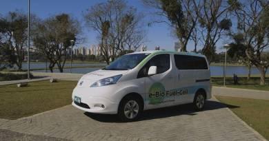 Nissan e-NV200 con pila de combustible de bioetanol