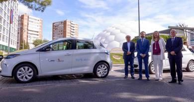 La Junta de Castilla y León incorpora 2 Renault ZOE