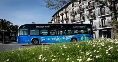 Irizar recibe el Premio Nacional de Medio Ambiente. Autobus eléctricos Irizar i2e, bus cero emisiones fabricado en España
