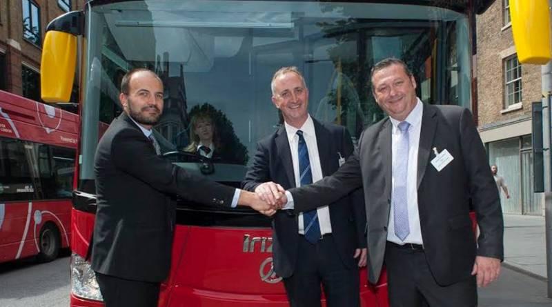 Veremos los autobuses Irizar i2e en Londres