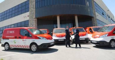 Falck VL incorpora seis furgonetas Nissan e-NV200