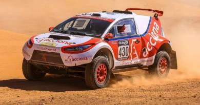 El ACCIONA 100% EcoPowered en el Dakar 2017