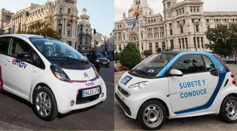 Madrid, la ciudad del carsharing y motosharing eléctrico