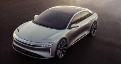 Se presenta el Lucid Air, un coche eléctrico autónomo de 1.000 cv y 640 km de autonomía.