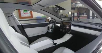 Así será el interior del Tesla Model 3