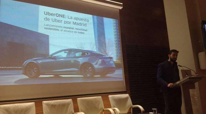 UberONE llega a Madrid con una flota de Tesla Model S
