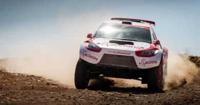 ACCIONA 100% Ecopowered, primer coche eléctrico en completar el Dakar