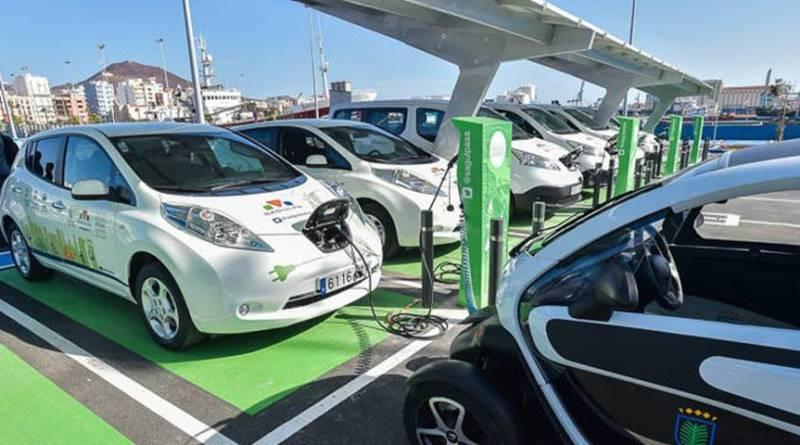 Estación fotovoltaica para la recarga de vehículos eléctricos en Gran Canaria