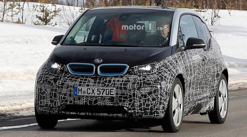 Cazado el nuevo BMW i3 2017. Más potencia y mayor autonomía
