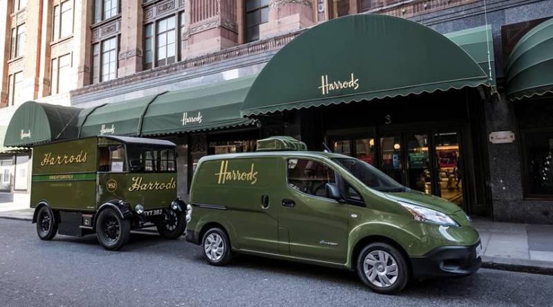 Los almacenes Harrods vuelven a repartir con eléctricos