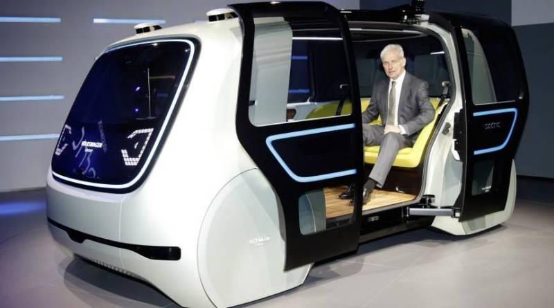 VW presenta Sedric, un vehículo eléctrico y autónomo destinado a taxi