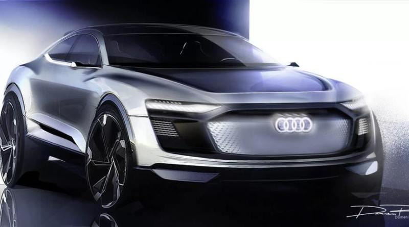 Presentación del Audi e-tron Sportback concept en Shanghai