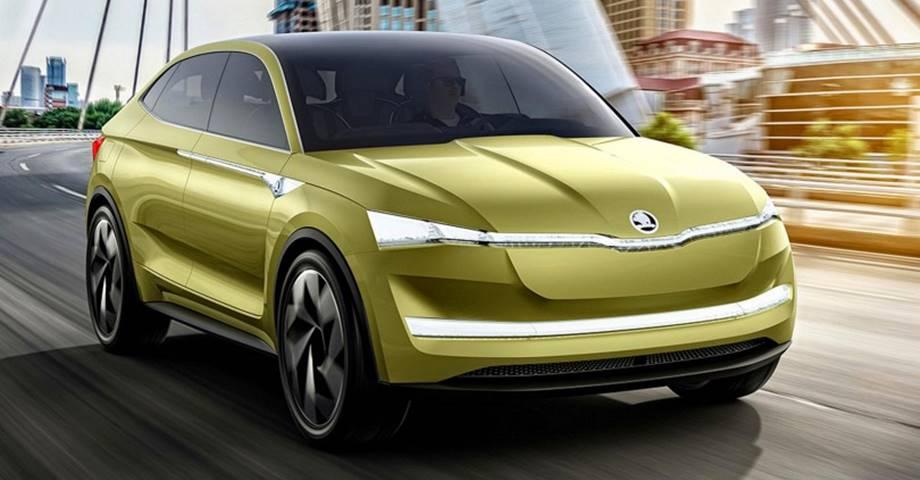 Skoda Vision E, el primer SUV eléctrico de la marca