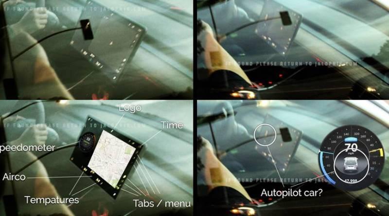Tesla Model 3 con pantalla central y nueva interface