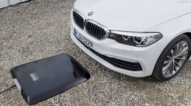 BMW Digital Charging Service y la carga inalámbrica