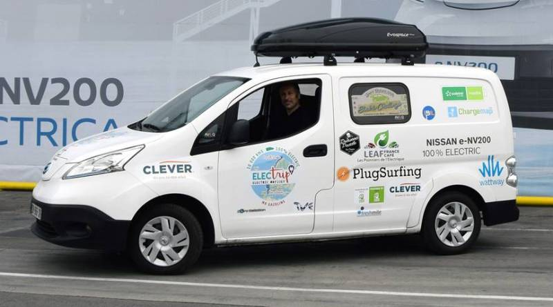 Proyecto Electrip: desde Barcelona a Cabo Norte con una Nissan e-NV200