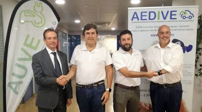 La AUVE firma un convenio de colaboración con AEDIVE