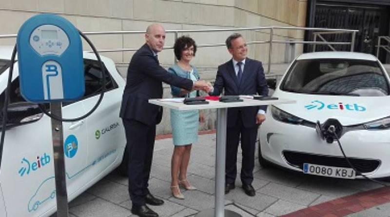 La Radio Televisión Vasca EITB se pasa al coche eléctrico