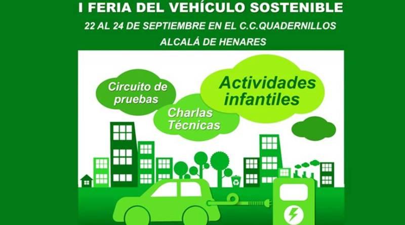 I Feria de Vehículos Sostenibles en Alcalá de Henares