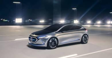 Mercedes-Benz presenta el Concept EQA, el compacto eléctrico