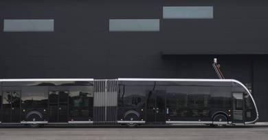 Irizar ie tram, el autobús eléctrico con aspecto de tranvía